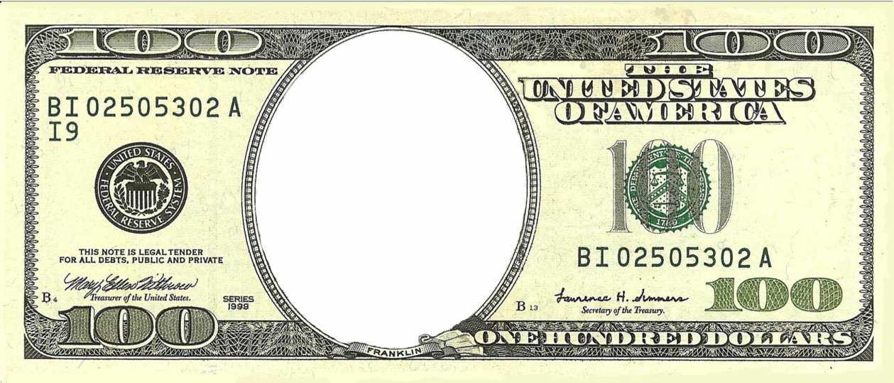 1259x539 17 Hundred Dollar Bill Vector 100 Dollar Bill Vector, 100