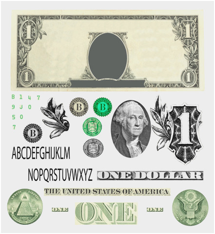 Dollar Bill Vector At Getdrawings Free For Personal Use Dollar