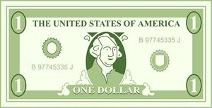 300x154 Dollar Bill Clip Art Clipartlook