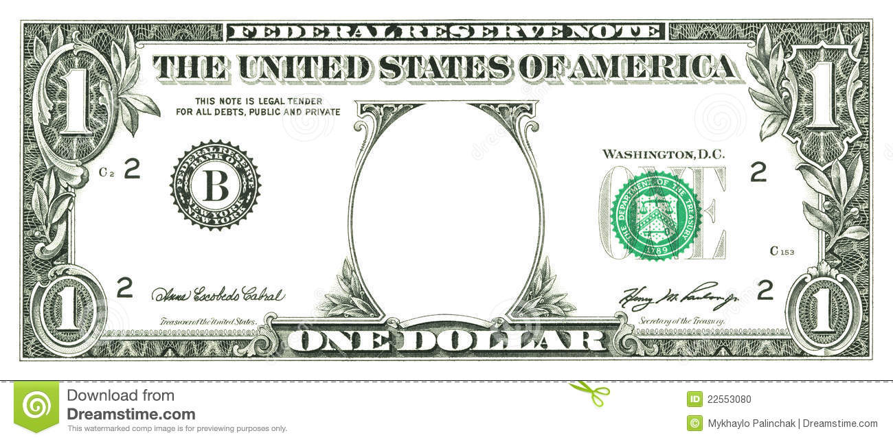 1300x644 Free Clipart Dollar Bill