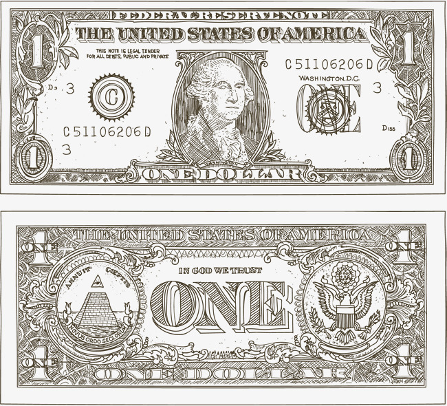 650x590 Hand Painted Dollar Bills, Paper Money, The Dollar, Banknote Png