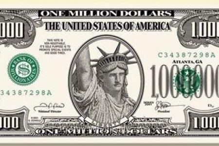 450x300 Million Dollar Bill Template Dollar Bill Illustrations Amp Vectors