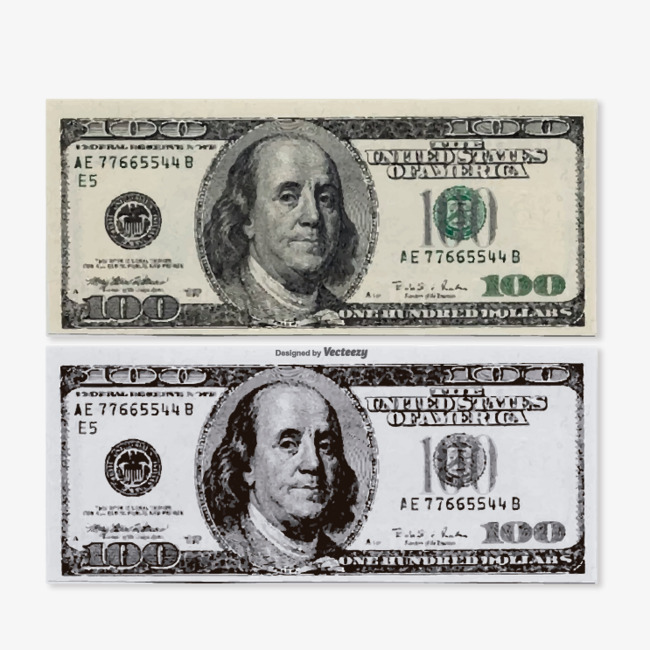 650x650 Vector Dollar Bill Free Pictures, Dollar Vector, Vector, Dollar
