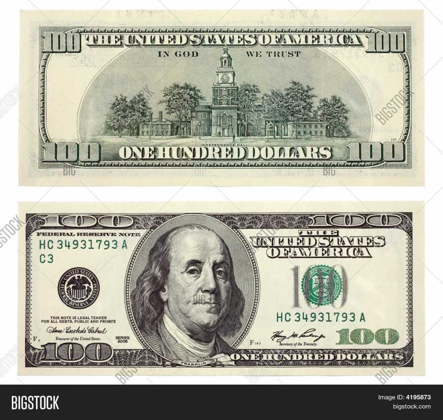 900x854 One Hundred Dollar Bill , Illustrations Amp Vectors Free