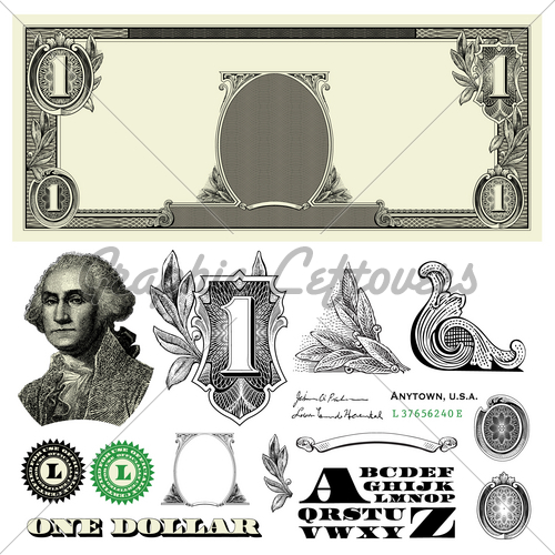 500x500 15 2 Dollar Bill Vector Images