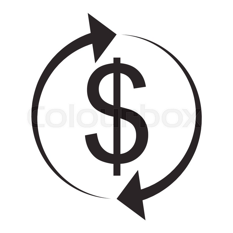 800x800 Exchange And Currency Conversion. Dollar Icon. Exchange Icon, Swap