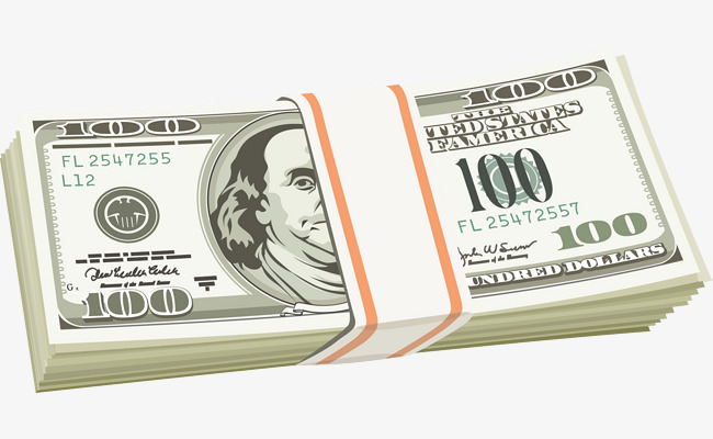 650x400 A Stack Of Dollar Vectors, The Dollar, Coin, Money Png And Vector