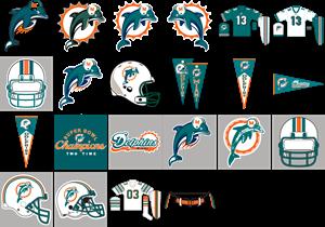 300x210 Miami Dolphins Logo Vector (.ai) Free Download