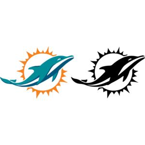 300x300 Miami Dolphins Logo, Vector Logo Of Miami Dolphins Brand Free