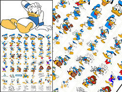 250x188 Donald Duck Vector Material Download Free Vector,3d Model,icon