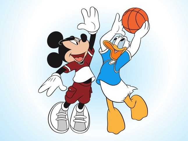 646x484 Mickey Mouse And Donald Duck Vector Pack Vector Free Download