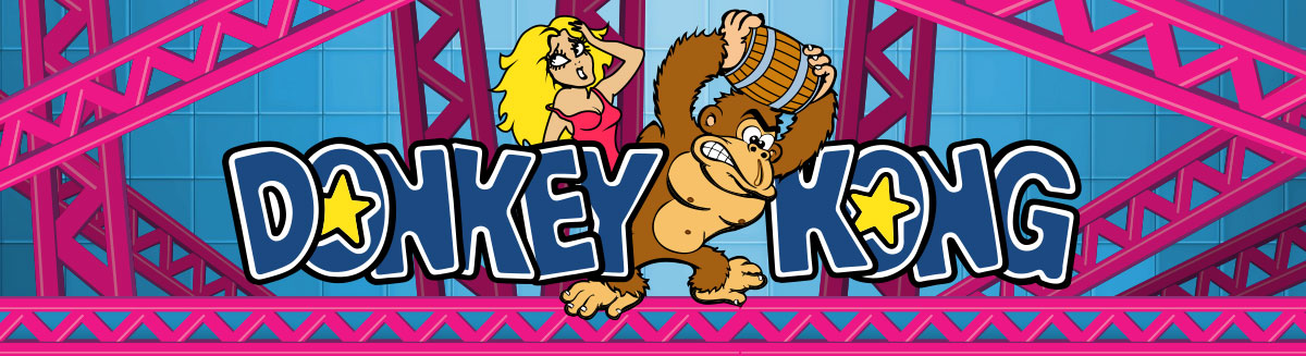 1200x327 Donkey Kong Hires Vector Images And Graphics Ai And Eps Files