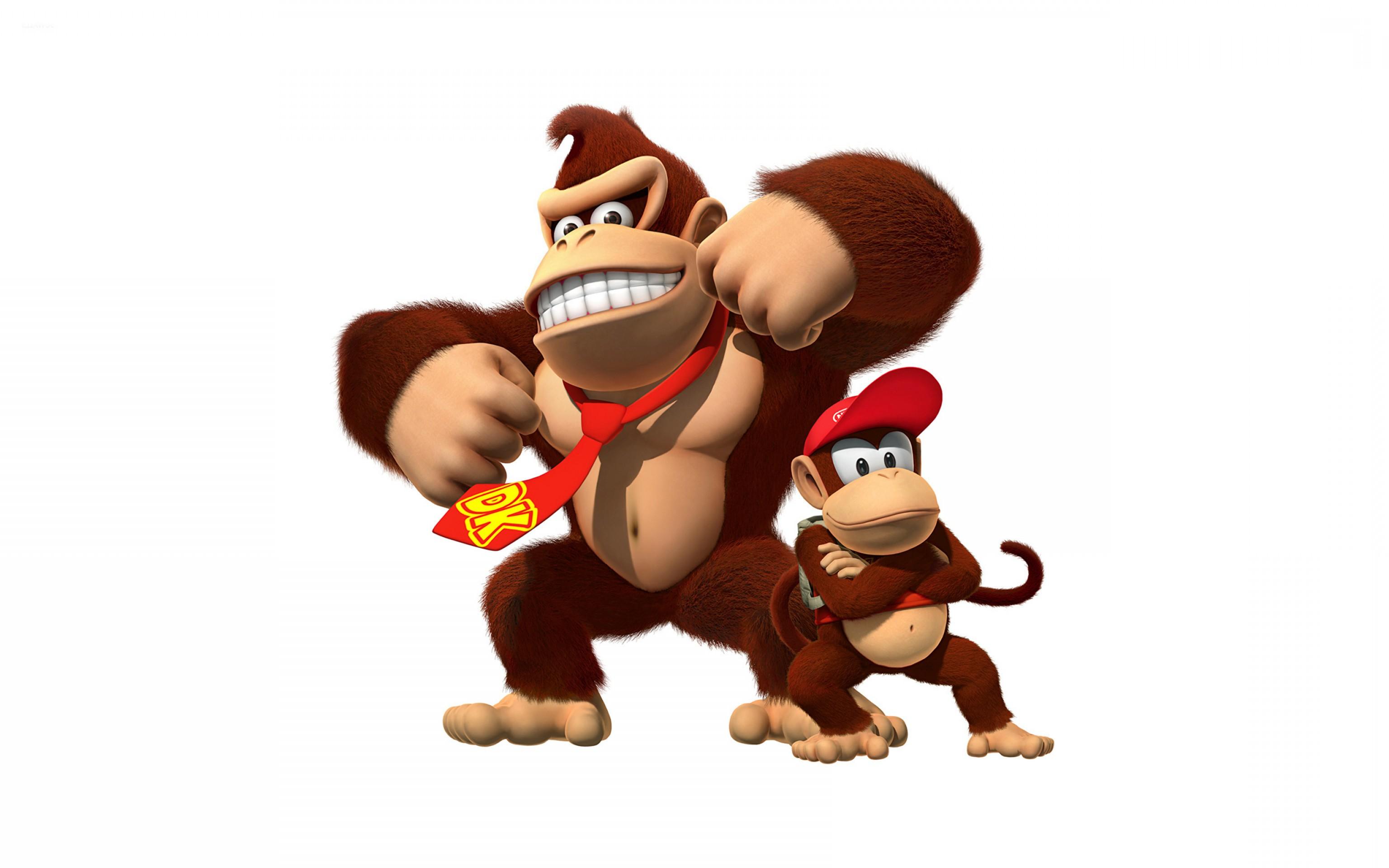 3072x1920 Donkey Kong Vector Geekchicpro