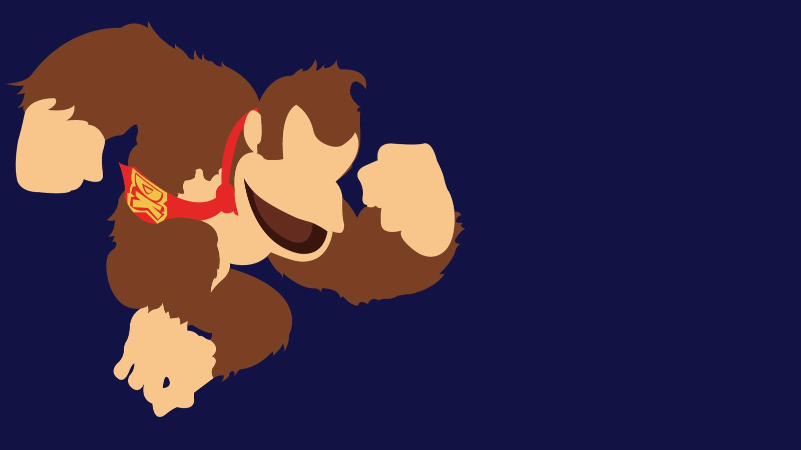1600x900 Donkey Kong By Bloodruns4ever