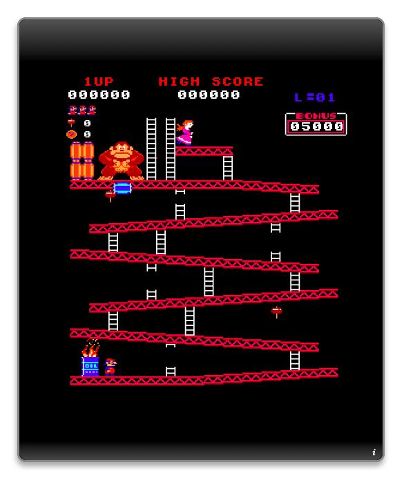 585x695 Donkey Kong