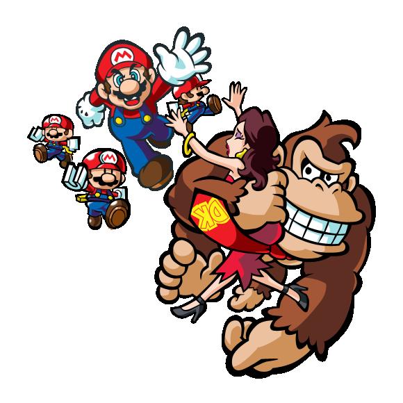 580x580 Mario Vs Donkey Kong 16 By Bidoubidi