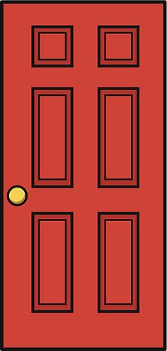 Door Vector Art