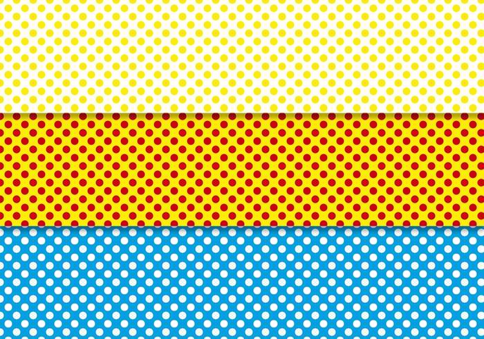 700x490 Free Polka Dot Background Vector