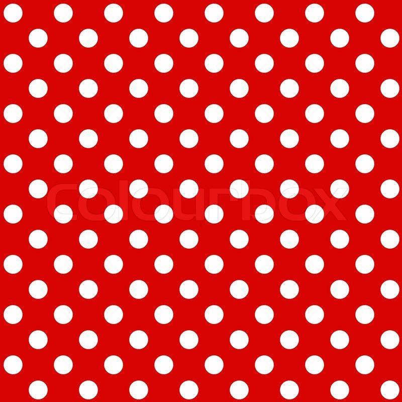 800x800 Seamless Polka Dot Background Stock Vector Colourbox