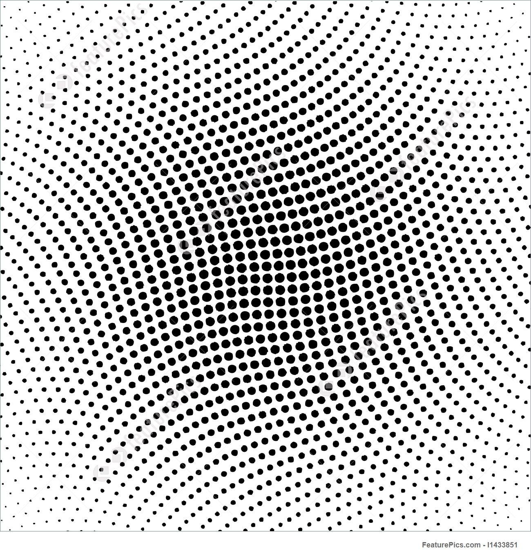 1300x1360 Vector Halftone Dots