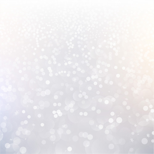500x500 White Light Dot With Blurs Christmas Background Vector 03 Free