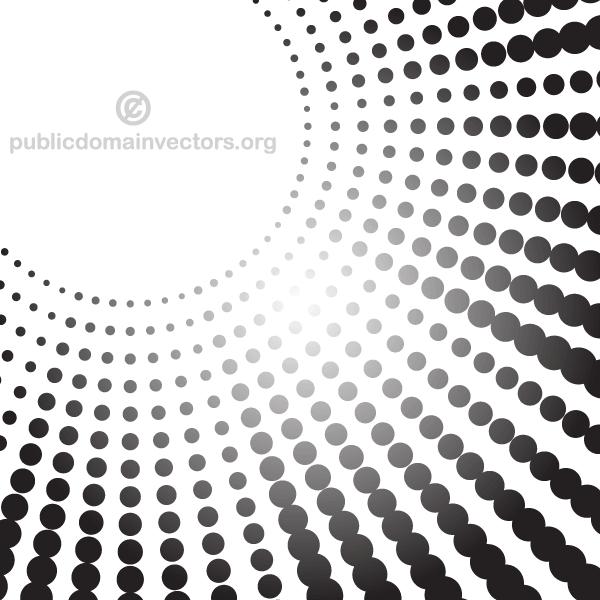 600x600 Black Dots Vector Background Free Vectors Black