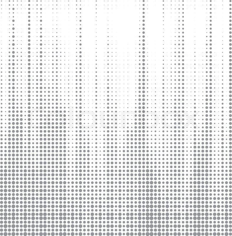 787x800 Dot Halftone Abstract Vector Background Stock Vector Colourbox