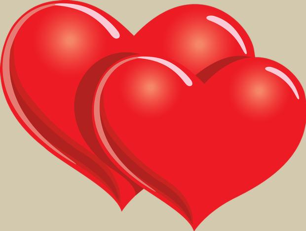 620x467 Double Heart Heart Cliparts Vector Design Trends