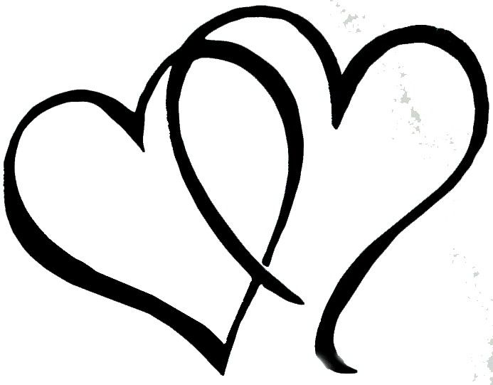 693x541 The Top 5 Best Blogs On Double Heart Clipart Vector