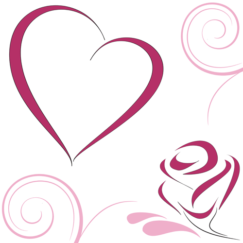 500x500 Double Heart Free Images