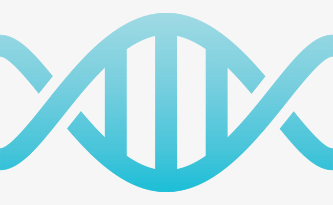 650x400 Lovely Blue Dna Vector, Blue Vector, Dna Double Helix, Lovely Png