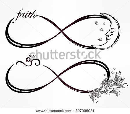 450x395 Infinity Clipart Double