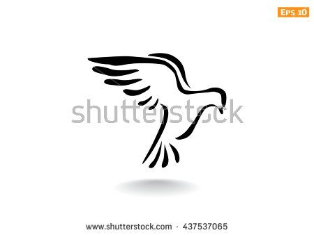 450x338 Dove Icon. Dove Icon Vector. Dove Icon Art. Dove Icon Eps. Dove