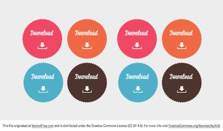 454x268 Free Free Download Button Vectors Clipart And Vector Graphics