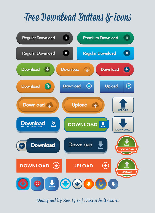 600x826 Free Vector Downloadupload Buttons Amp Icons Ai, Eps Amp Pngs