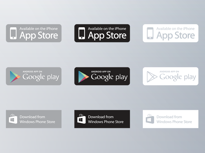 800x600 App Download Buttons
