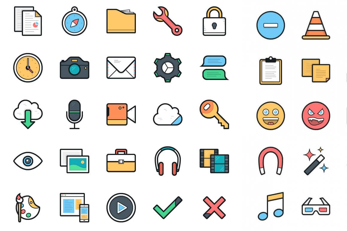 1160x772 Free Download 100 Lulu Vector Icons