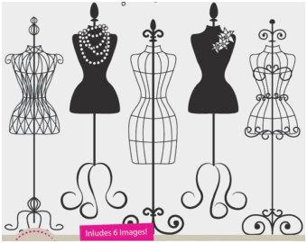 340x270 Mannequin Template For Fashion Design Prettier Silhouette