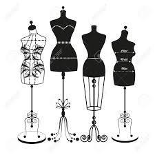 225x225 Resultado De Imagen Para Dress Form Vector Silhouettes, Stencils