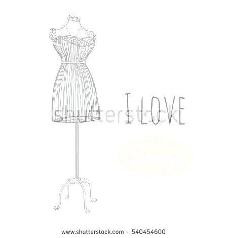 450x470 Vintage Mannequin Dress Form Stand Everydaytips