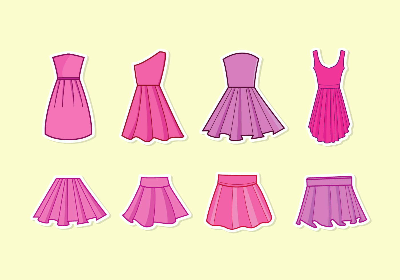 1400x980 Free Vector Dress