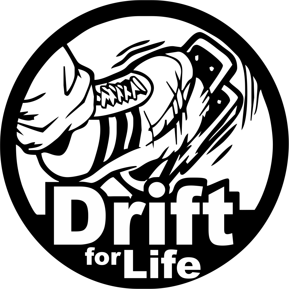 963x963 Drift For Life Auto Sticker Free Vector Download