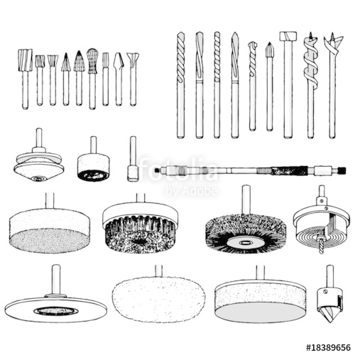 500x500 Drill Bit Vector Illustration Stock Image And Royalty Free Vector