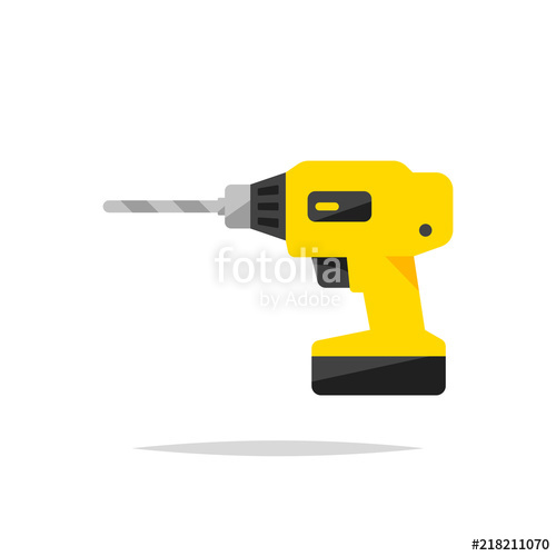 500x500 Drill Vector Isolated Stock Image And Royalty Free Vector Files