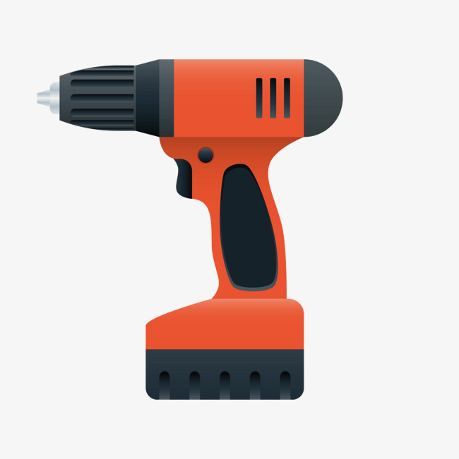 650x651 Orange Drill, Orange Vector, Orange, Electric Drill Png And Vector