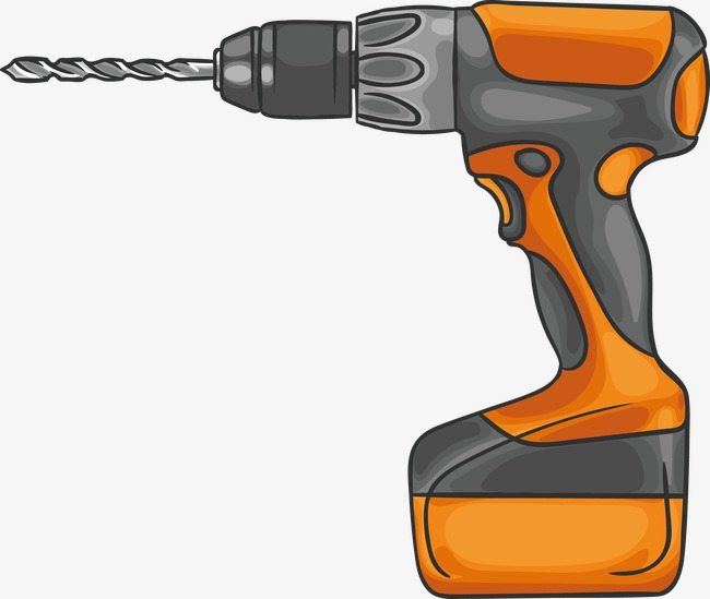 650x549 Drill Vector, Hand Painted, Repair Tool, Installation Tools Png