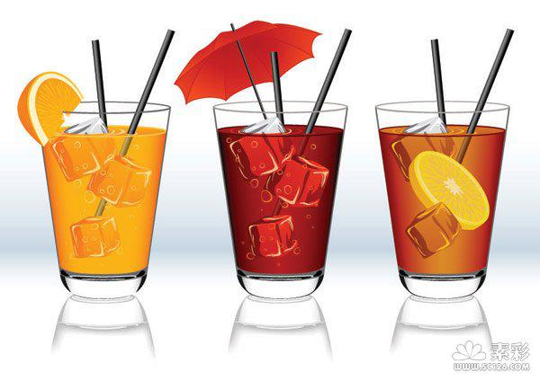 600x424 Drink Ice Drink Vector [Ai]