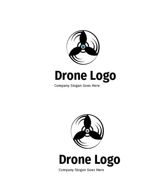 580x688 Drone Logo By @graphicsauthor Templates Logos