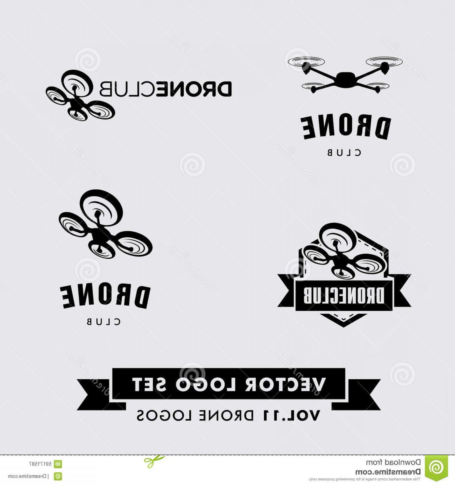 1560x1668 Stock Illustration Drone Vector Logo Set Company Image Arenawp