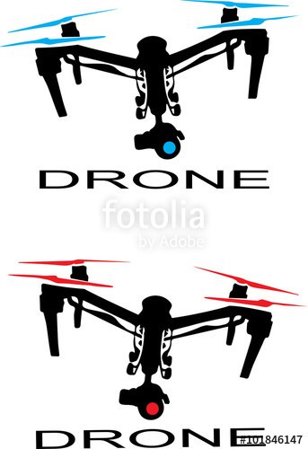343x500 Drone Logo Stock Image And Royalty Free Vector Files On Fotolia
